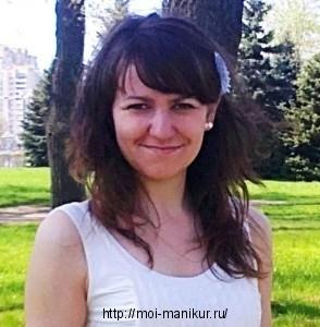 """Автор блога """"Маникюр в домашних условиях"""" - Танюша"""
