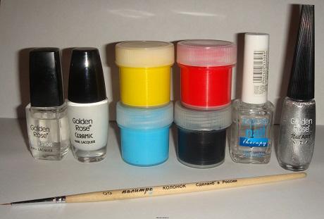 Необходимые материалы и инструменты для дизайна ногтей