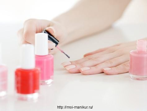 Скорая помощь ногтям при маникюре.