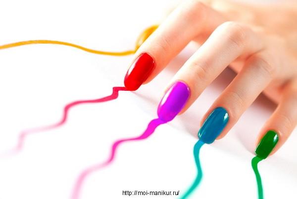 Как надолго сохранить лак на ногтях?