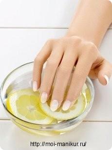 Как быстро отбелить ногти в домашних условиях?