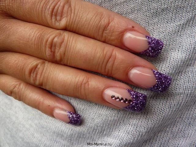 Фото аквариумного дизайна ногтей на руках.