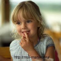 Как отучить детей грызть ногти?
