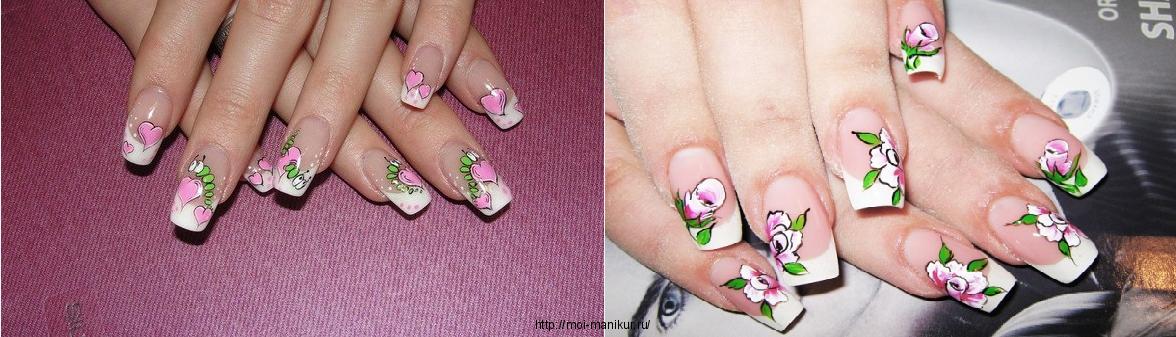Дизайн ногтей мода 2012.