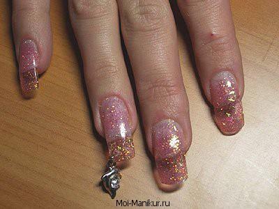 Фото пирсинга ногтей.