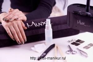 Пошаговая инструкция выполнения minx маникюра