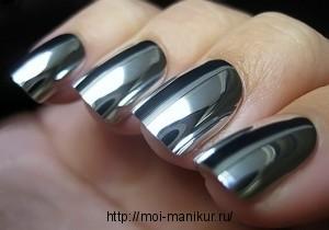 Как сделать зеркальные ногти