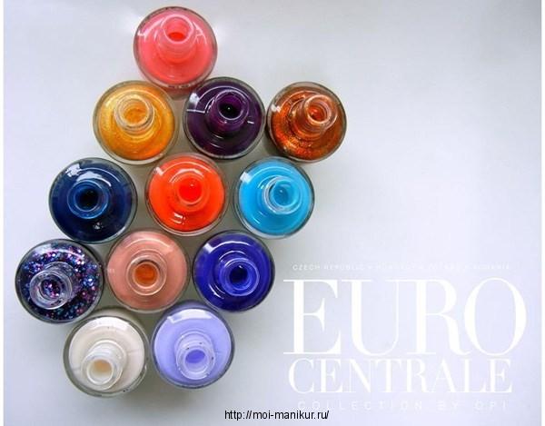 Коллекция лаков OPI Euro Centrale 2013