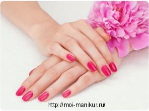 Покрытие ногтей гель-лаком на дому