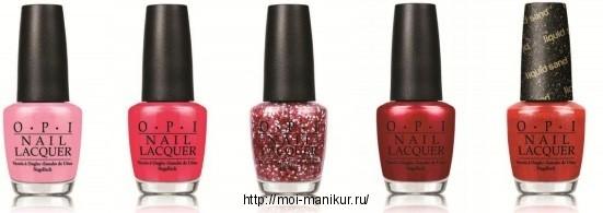 Коллекция лаков ля ногтей OPI Summer 2013