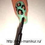 Шаг 3 - Леопардовый маникюр