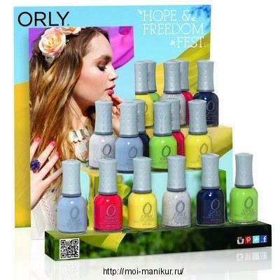 Весенняя коллекция лаков ORLY 2013
