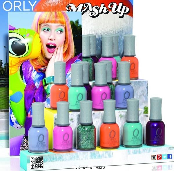 Летняя коллекция ORLY Mash Up Summer 2013