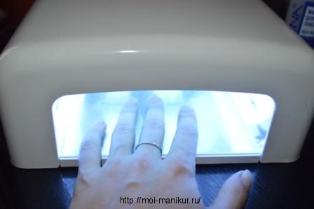 Полимеризуем в лампе