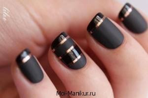 Видео: матовые ногти