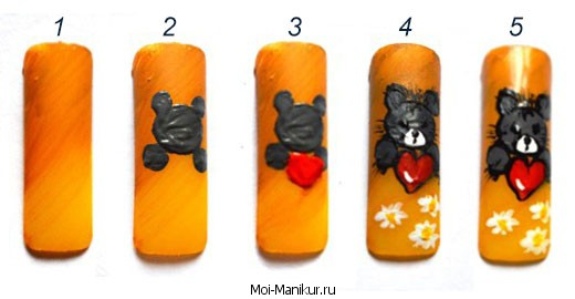 Фотоурок мишки тедди