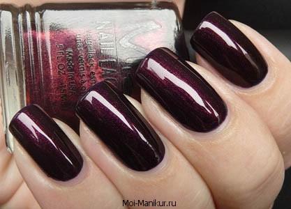 бардовый цвет - мода осень-зима 2014-2015