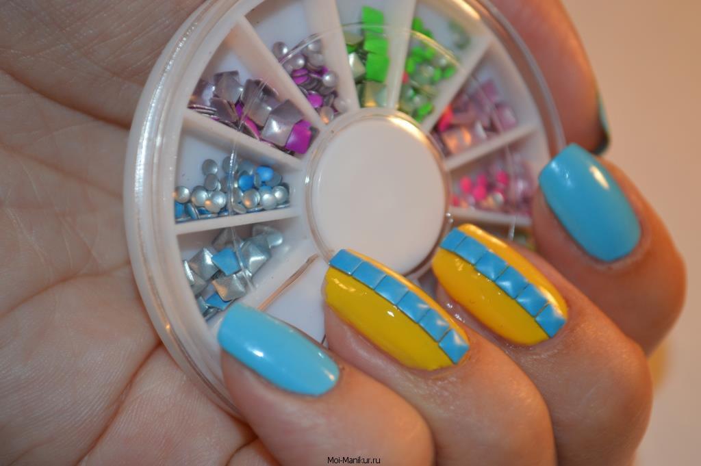 Стикеры объемные для ногтей