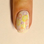 Дизайн акриловыми красками Мыльные пузыри