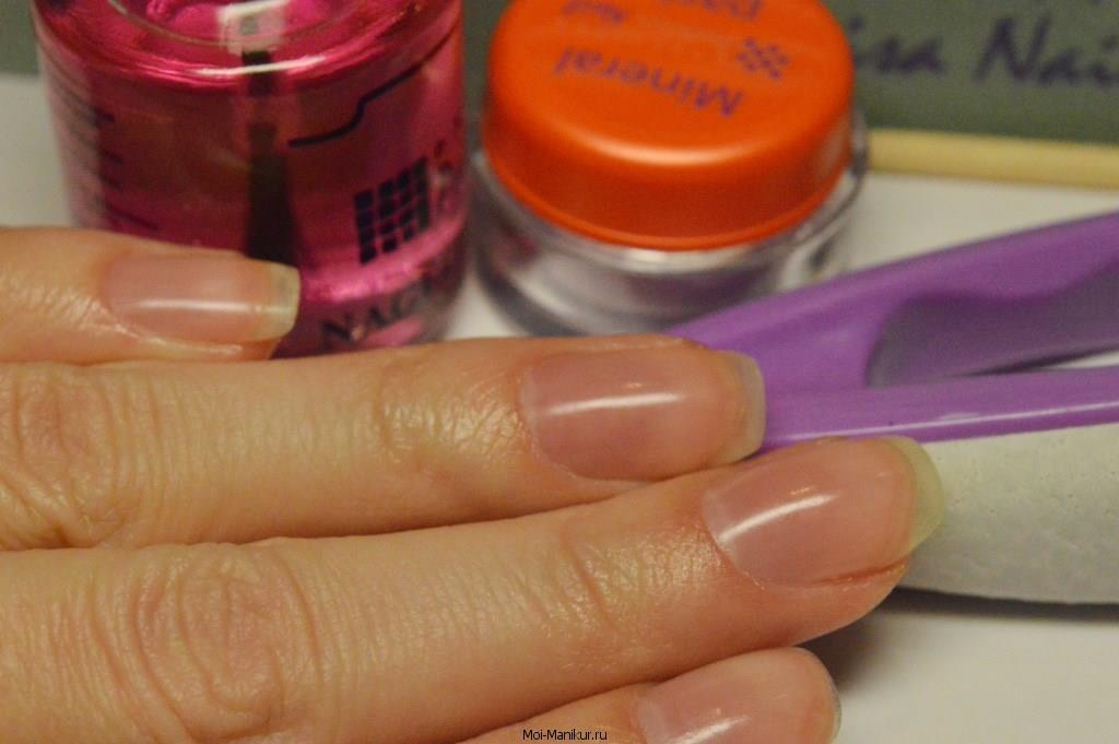 запечатывание ногтей - результат