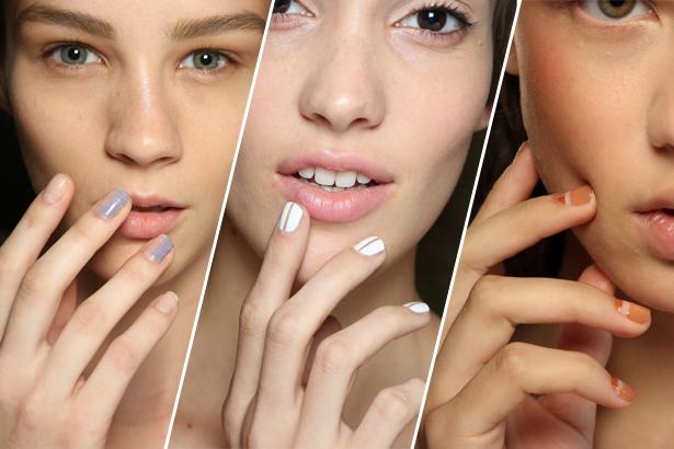Negativa space manicure