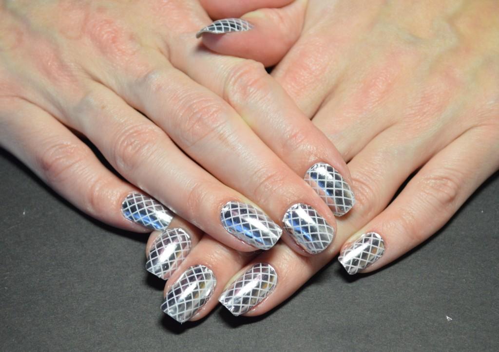 Зермальные ногти с помощью термофольги