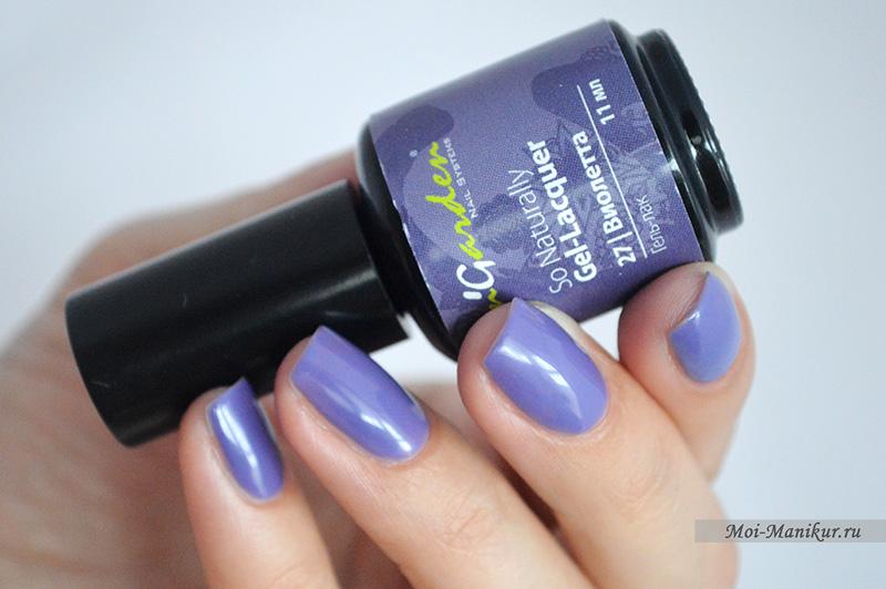 гель-лак In'Garden Виолетта