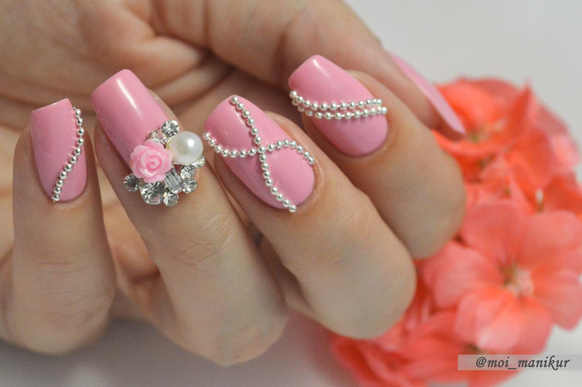 Как сделать объемные ногти фото 458