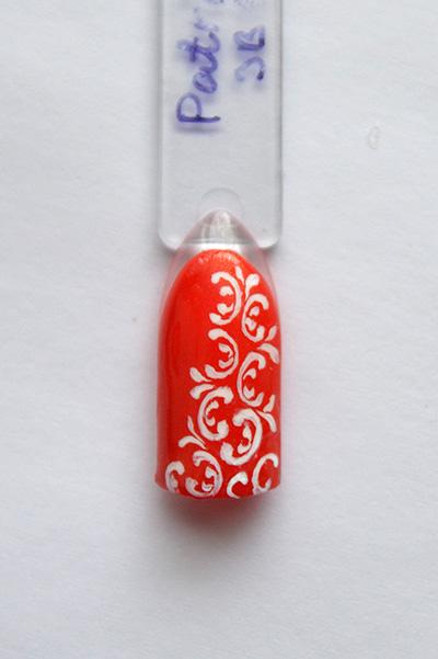 Дизайн ногтей: завитки