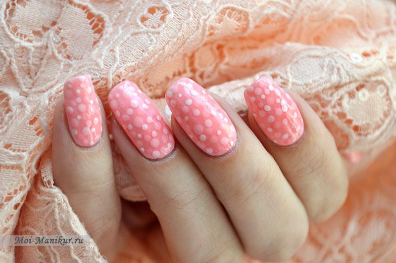 дизайн ногтей с тинтами