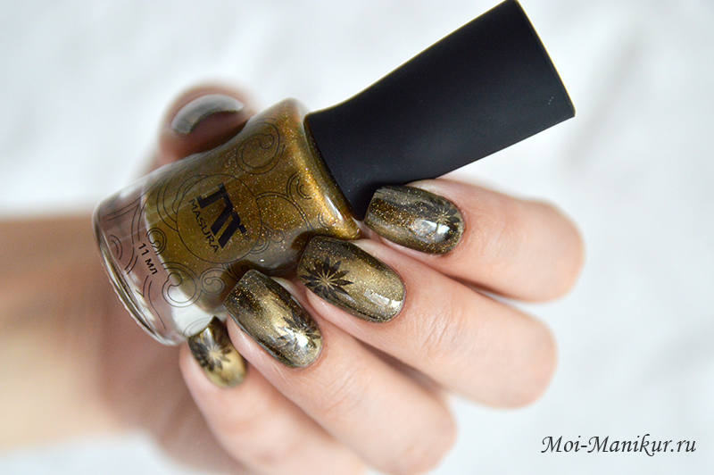 Дизайн ногтей с лаками Masura «Драгоценные камни»