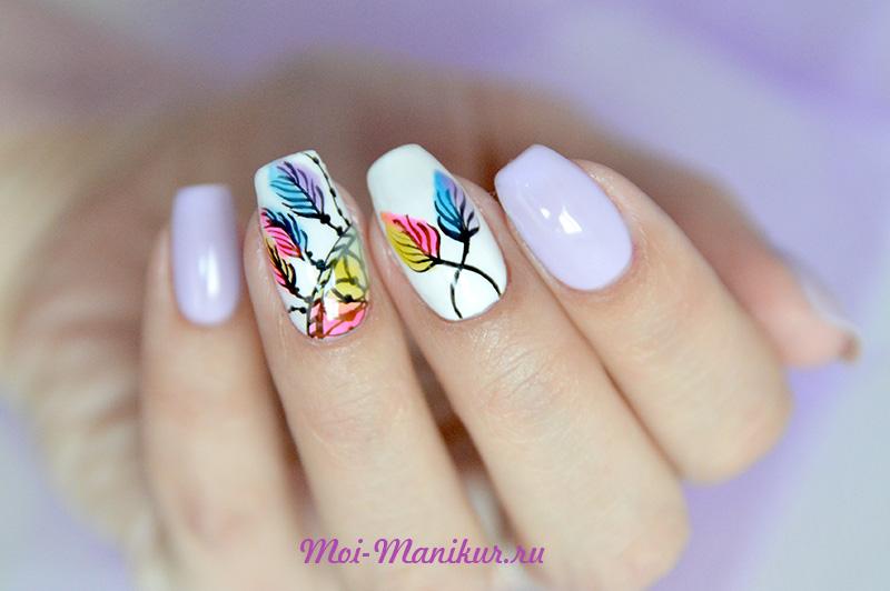 """дизайн ногтей """"Ловец снов"""""""