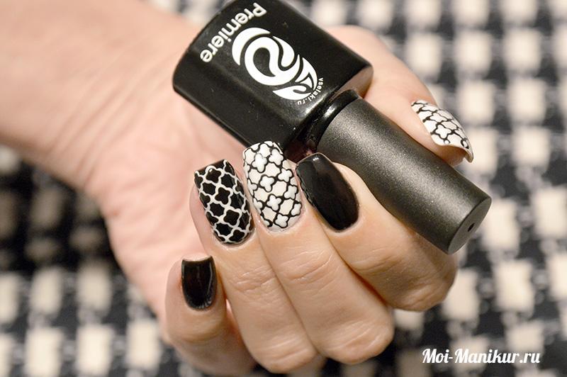 дизайн ногтей дотсом на гель-лаке