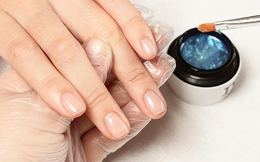 укрепление ногтей биогелем под гель-лак