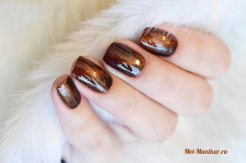 Как сделать космос на ногтях