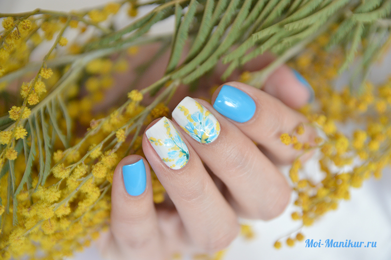 Весенний дизайн ногтей 2017