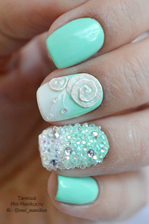 Crystal Pixie дизайн ногтей
