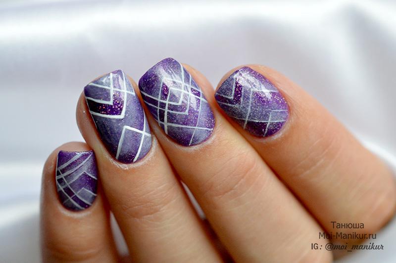 Аэропуффинг – дизайн на ногтях