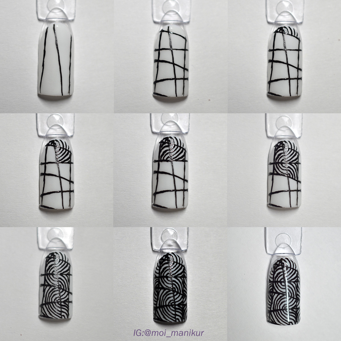 doodling дизайн ногтей мастер класс