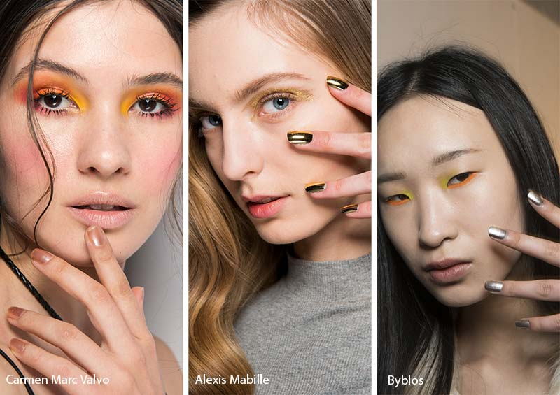 fall_winter_2017_2018_nail_art_manicure_trends_metallic_nails1
