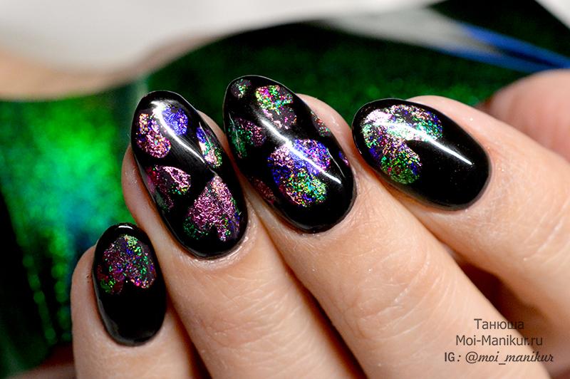 дизайн ногтей с сердечками на 14 февраля