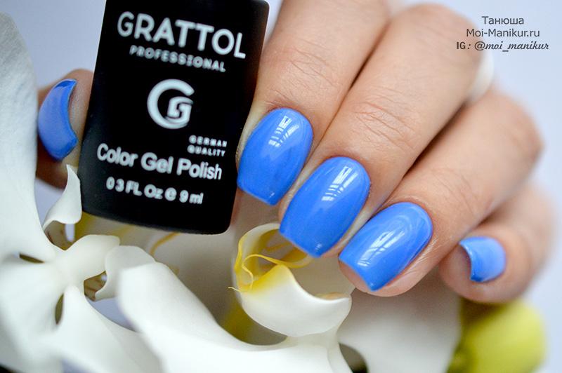 гель-лак Grattol номер 88 Azure