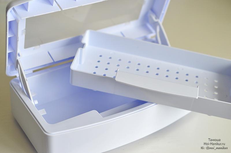 контейнер для маникюрных инструментов