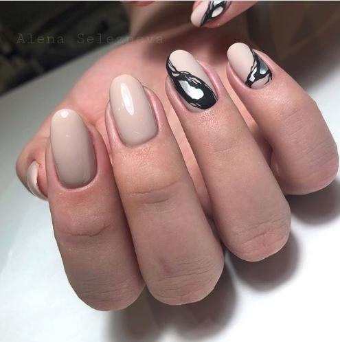 """дизайн ногтей """"олово"""""""