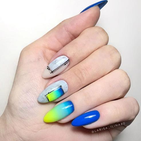 рамки на ногтях