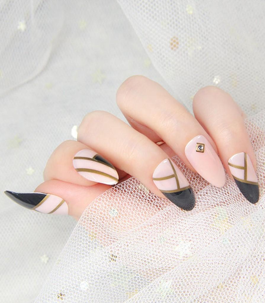 накладные ногти с дизайном