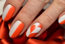 дизайн ногтей на 14 февраля