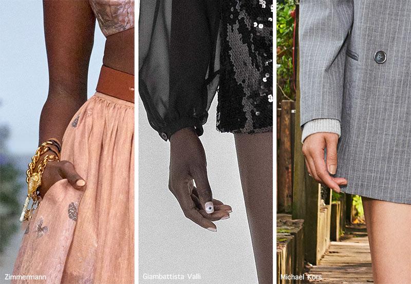 тенденции маникюра весна-лето 2021: дизайн ногтей